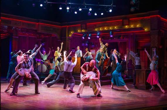 Bandstand- Theater Scene New York Broadway Review
