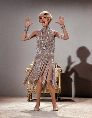 Carol Channing as Muzzy Van Hossmere in Thoroughly Modern Millie, 1967.