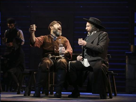 Fiddler On The Roof Theater Scene New York Broadway Review